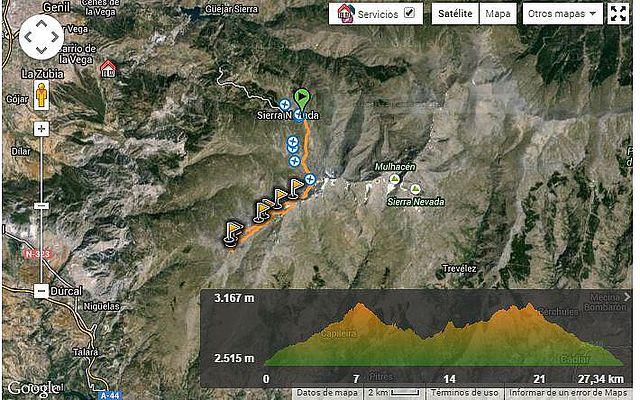 Cerro del Caballo por los Tajos de la Virgen-Verea Cortá y Cuerda Tajos Altos (Sierra Nevada)3