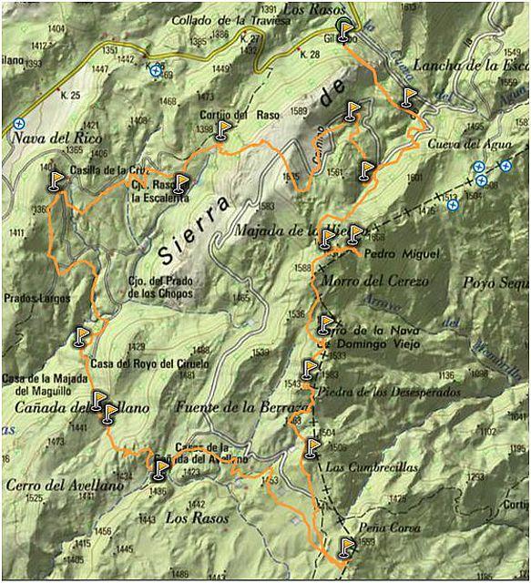 Sierra de las Villas. Peña Corva