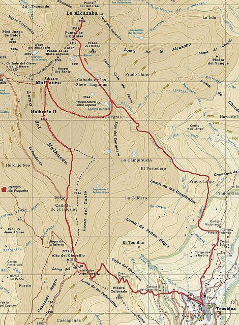 TRAVESÍA SIERRA NEVADA (6 y 7 de julio)2